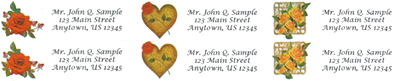 Rose-Address-Labels